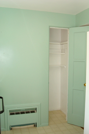 Before - Little storage