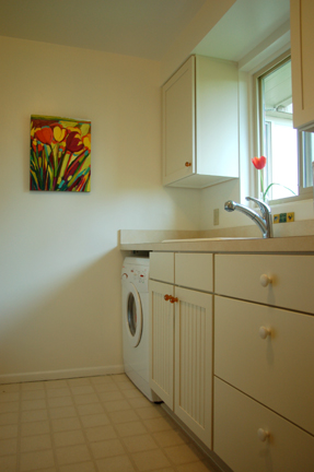 After - Under counter washer/dryer