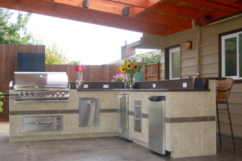 Complete - Outdoor Kitchen
