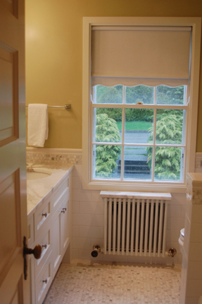 After: Finishes Combine Historic Charm and Modern Touch