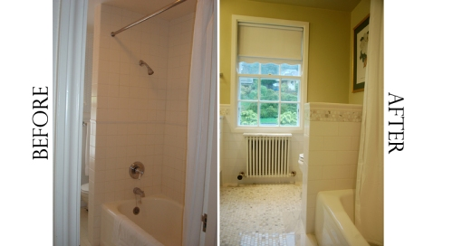 Before: Cramped, After: Spacious