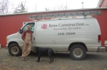Rose Construction Van