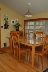 Clean, warm multi-use dining room