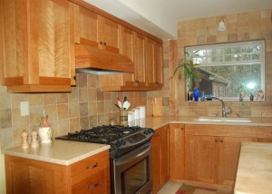 More kitchen cabinets