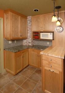 Kitchen cabinets nook