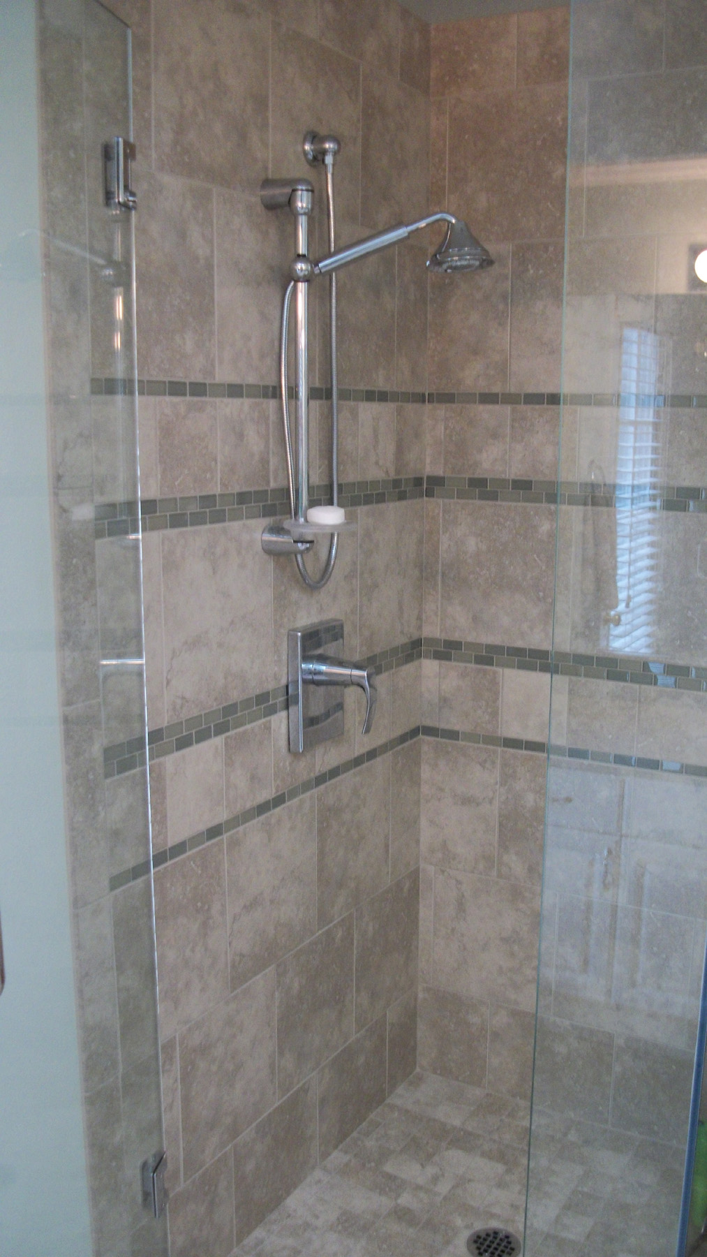 Bathroom Tile Construction : Bath remodel featuring schon free standing tub notes