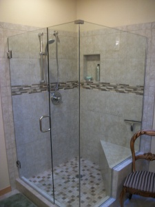 Bath remodel by Rose Construction Inc
