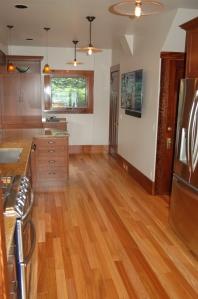 Wood flooring for kitchen remodel