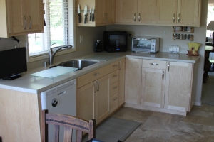 Kitchen remodel, after photo